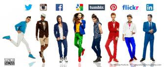 """Social Media Platform Turns to Fashionable Icons!"" @FY"