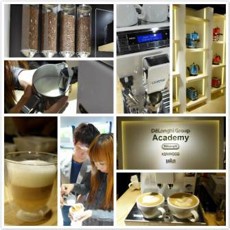 跟拉花王子學Latte Art @ De'Longhi Group Academy@Mrs. Lam Cafe