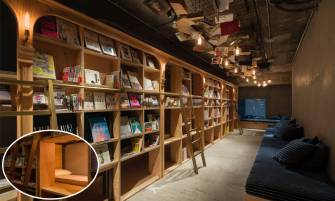 【書蟲DREAM HOSTEL】BOOK AND BED TOKYO@小Q
