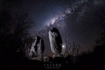 4K 360 VR the Balancing Rock Starscape timelapse @franso