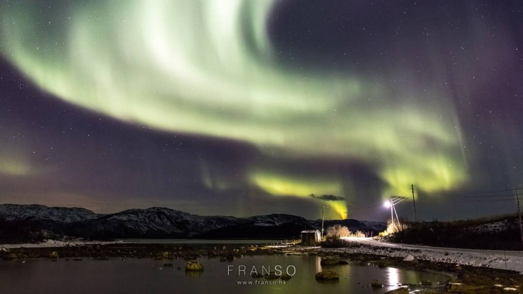 挪威 極光 franso northern light aurora