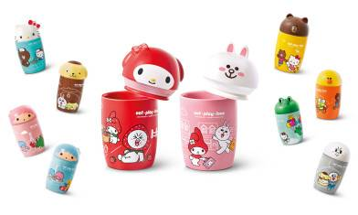 LINE FRIENDS x Sanrio characters! 陶瓷杯 7仔登場