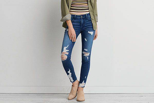 AEO jeggings $590