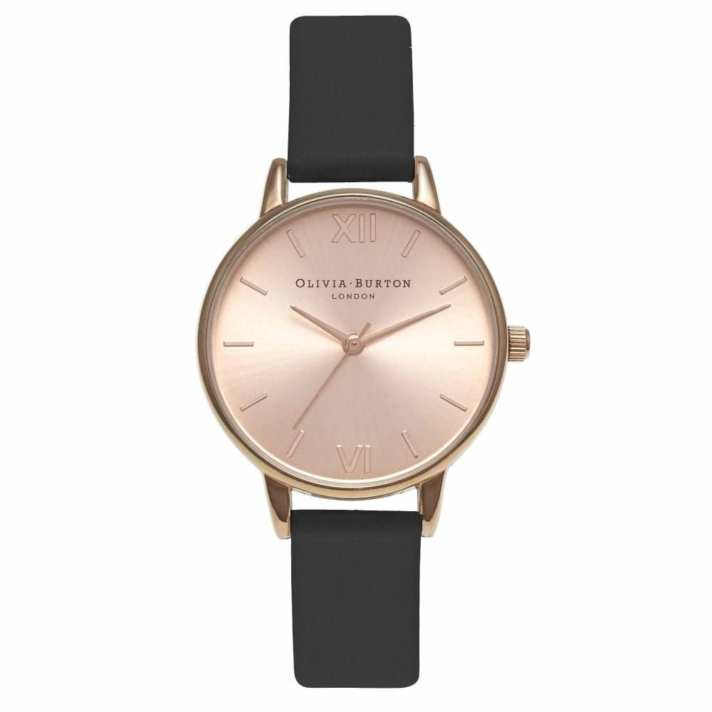 Midi Dial Black & Rose Gold Watch $340(原價 $920)