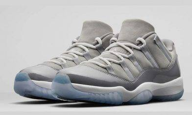首發!Air Jordan 11 Low「Cool Grey」Low Cut誕生
