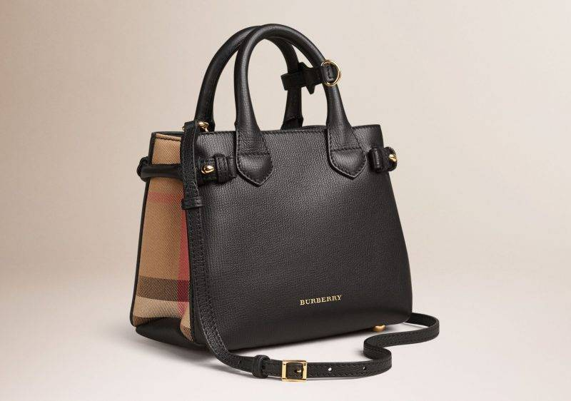 Burberry Baby Banner Tote Bag<br srcset=