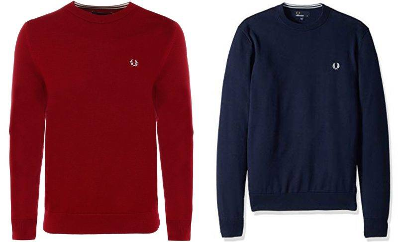 Fred Perry Cotton Crew<br srcset=