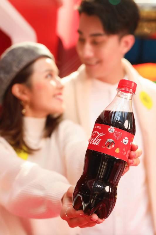 大家可以設計個人化可口可樂®