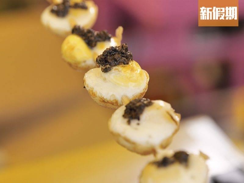 串燒黑松露鵪鶉蛋