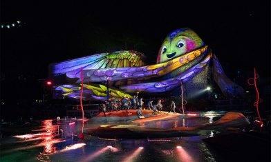 海洋公園全新「光影盛夜」 水上光雕投影匯演開幕優惠$416由早玩到夜