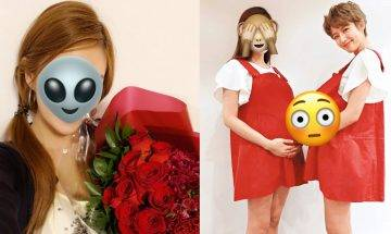 31歲E.T眼許亦妮臨盆在即   負評好姊妹蔡思貝裝假狗陪影孕照