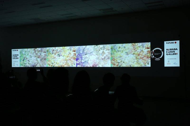 「阿里雲畫廊」展現數碼藝術創作,大家經過成田機場嘅話一定要去睇啊!