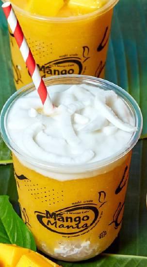 芒果椰汁西米芒果沙冰