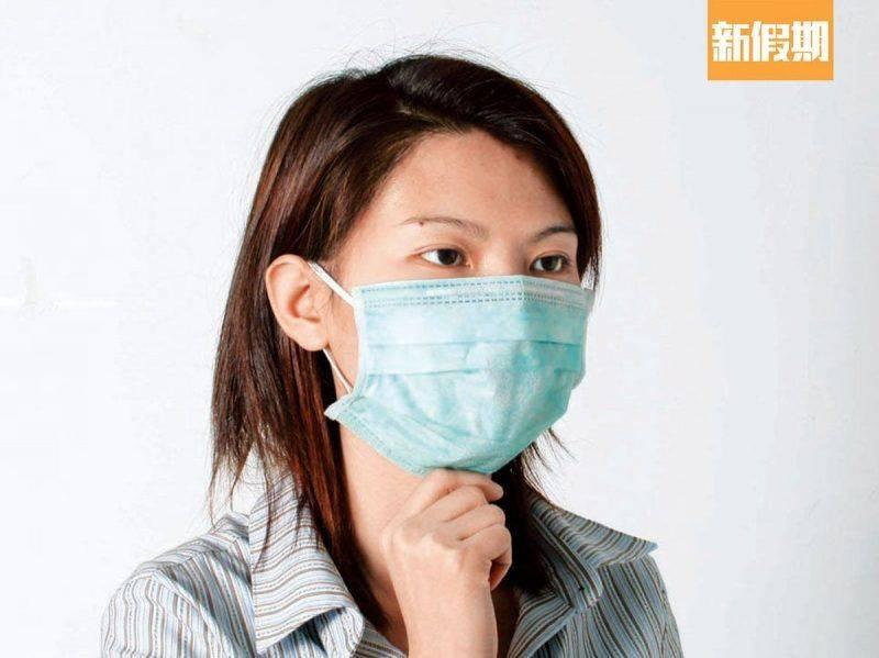 大家若脫下外層口罩時,可要留意有沒有跟足以上的事項。