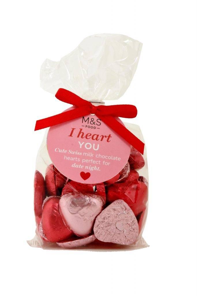 I HEART YOU CHOCOLATES 心形瑞士牛奶朱古力