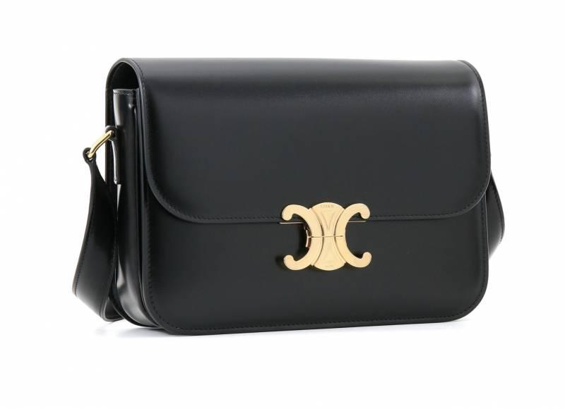 CELINE黑色皮手袋 ,250(原價,500)