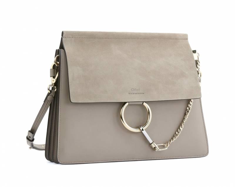 CHLOE'駝色皮手袋 ,500(原價,000)