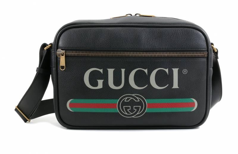 GUCCI Logo印花手袋 ,150(原價,300)