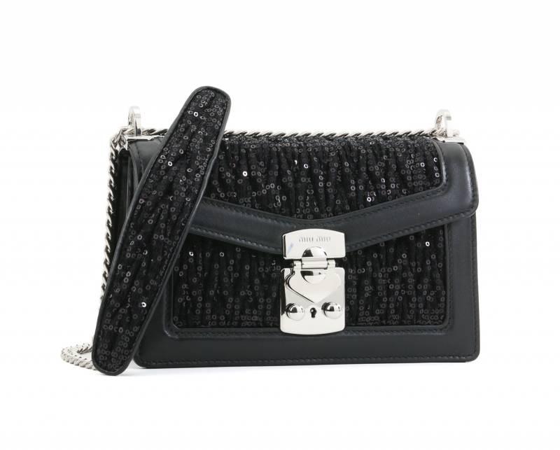 MIU MIU珠片手袋 ,050(原價,100)