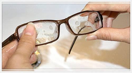 洗手時可以順道清潔眼鏡