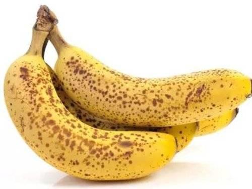 帶有啡點的全熟香蕉能夠延緩衰老