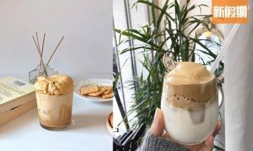 韓國超人氣「400次咖啡」自家製DIY教學!超綿密焦糖咖啡奶蓋+香濃牛奶|懶人廚房