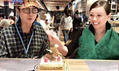 54歲鄧萃雯為偶像劉松仁補祝70大壽   曾傳松哥中風今精神飽滿出動