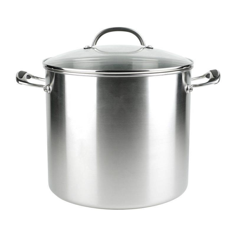 有蓋不銹鋼湯鍋 15.1L 9 (原價9 )