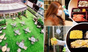 抗疫日常:商場智能消毒+室外用餐 外出用餐唔怕!
