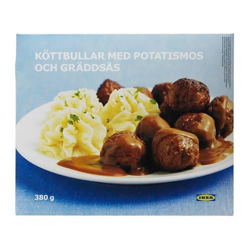 IKEA急凍瑞典肉丸連薯蓉 (圖片來源:IKEA)