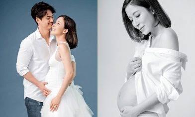 40歲楊怡孖老公影孕照  35歲羅仲謙第一B性別係……
