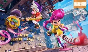 Switch免費遊戲新作《泡泡糖忍戰》 4Vs4團隊對戰 五彩繽紛忍術大亂鬥!|網絡熱話