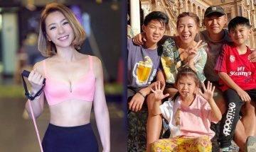 《西葡潮什麼》索媽37歲梁芷珮小島晒比堅尼   全家出動拍旅遊節目邊玩邊賺錢