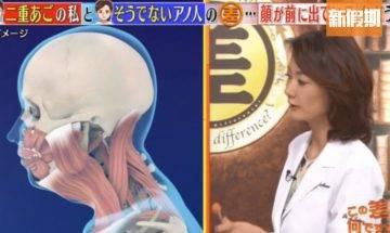 日本專家教路2招變完美V臉 雙下巴減極都有 減肥要從日常習慣著手|好生活百科