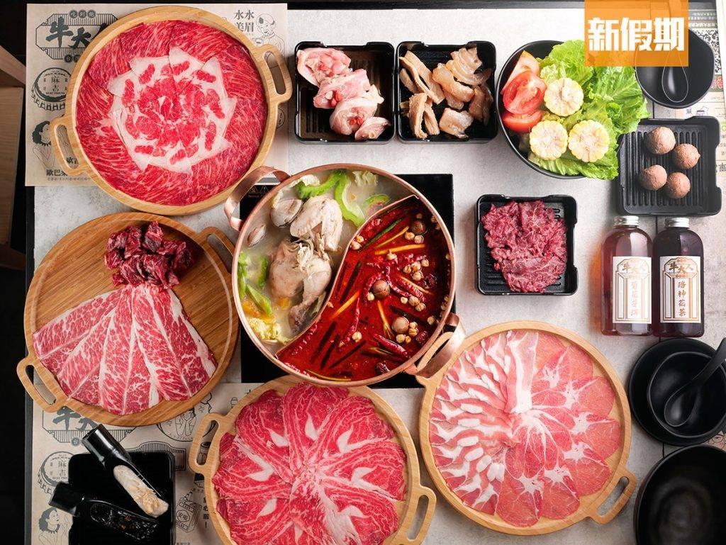 澳洲極上和牛餐 有過10款肉類可任點任食,食肉獸最愛。