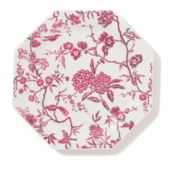 粉紅印花碟 ,買2件額外85折後(原價)