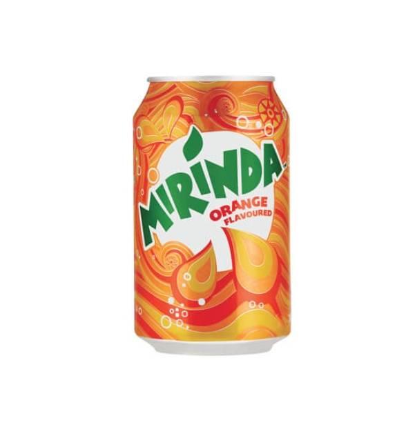 美年達橙味碳酸飲料