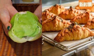 享樂烘焙麵包店 進駐九龍灣!新蒲崗工廈發跡日賣250個爆餡冰心麵包+16層牛角包+麻糬貝果|區區搵食