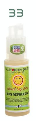 California Baby natural bug blend BUG REPELLENT:香茅油5%
