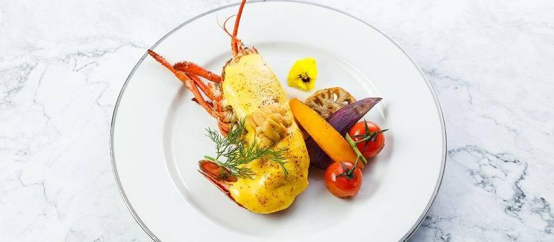 黃金海膽醬烘波士頓龍蝦