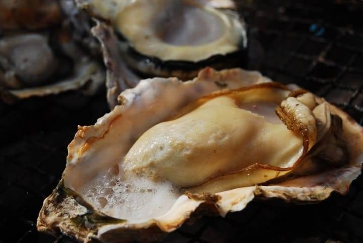 住之江牡蠣肉質紥實實在。