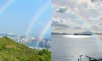 端午節香港出現幸運三彩虹 即睇捕捉方法!