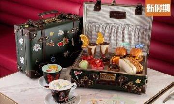 尖沙咀小王子主題下午茶!CURATOR By LEX Cafe $258食8款鹹甜點 打卡小王子圖案咖啡+骨瓷精品+玫瑰玻璃座|區區搵食