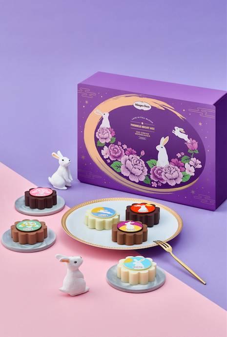 愛‧華麗 早鳥價 一般客戶 8; 特選客戶 8一盒匯聚了清新水果及經典雪糕口味,一次過食齊,滋味倍增。