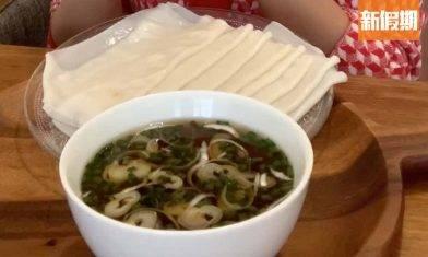 糖妹拍片教整白布烏冬食譜 只需1款材料搞掂 爽滑煙韌 配檸檬冷麵汁消暑一流|懶人廚房