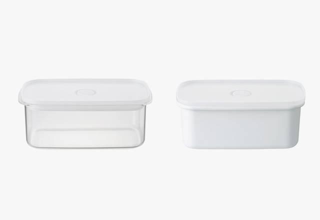 密封儲存盒 / 琺瑯食物保存容器 - 5(原價 - 0)