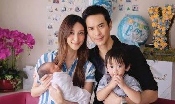 29歲陳凱琳報喜 半百鄭嘉穎再做爸爸