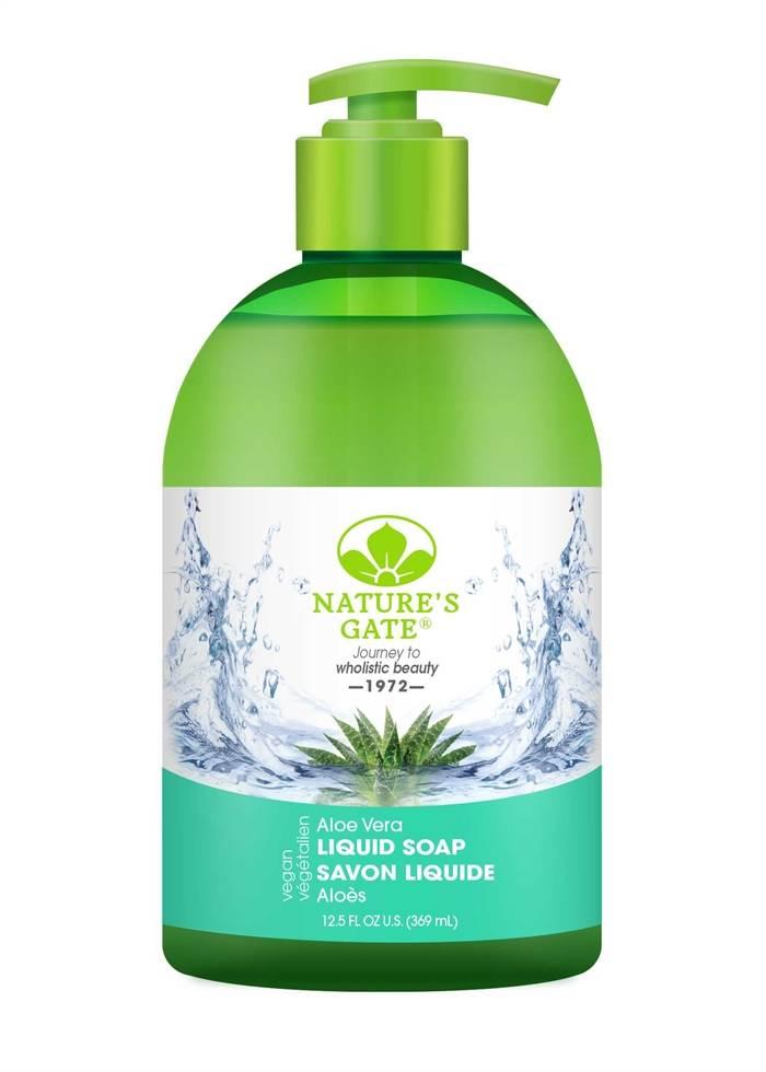 9.NATURE'S GATE Aloe Vera Liquid Soap 4.5星