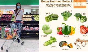 營養師教你食物保鮮小貼士 蔬菜/水果/肉類/奶類/五榖 最長可存放一星期以上|食是食非