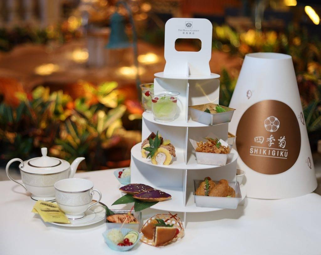 中環的四季菊日本餐廳亦推出下午茶外賣服務,日式鹹甜點夠特別!